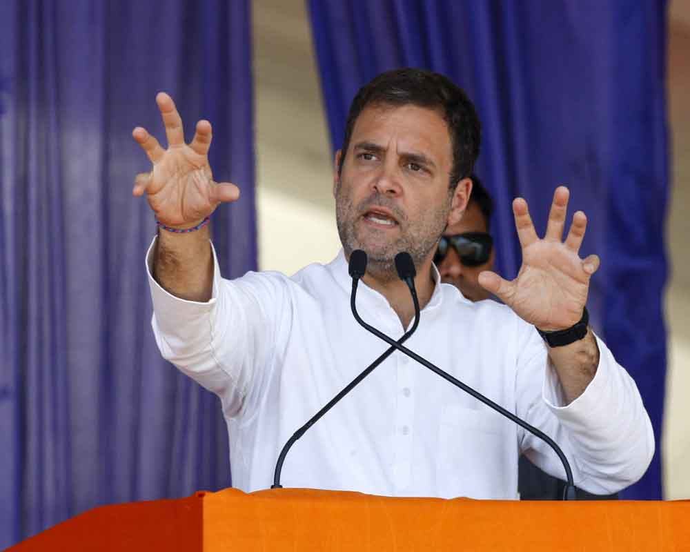 Modi will be removed, Cong will form govt: Rahul Gandhi