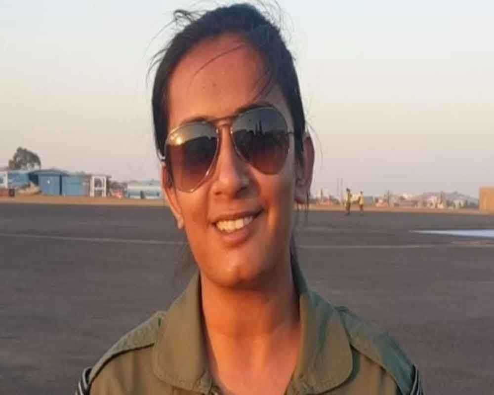 Mohana Singh becomes first woman fighter pilot to fly Hawk jet
