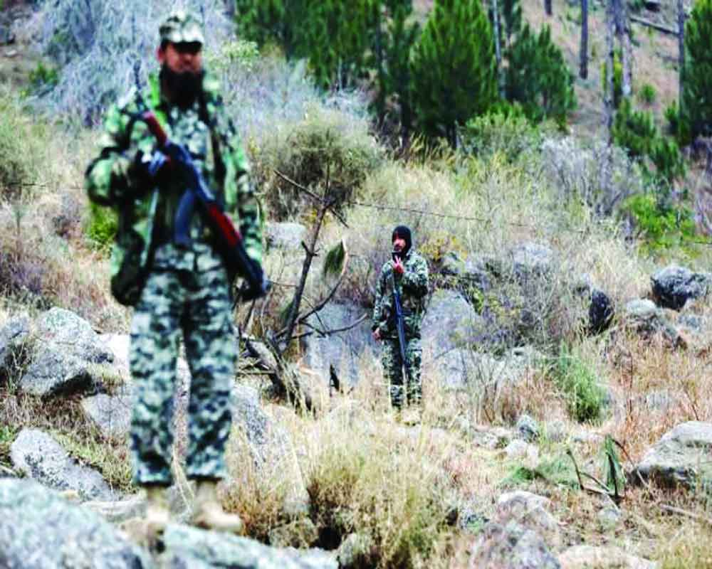 Month after IAF strike, Pak Army takes media to partially-hid Balakot