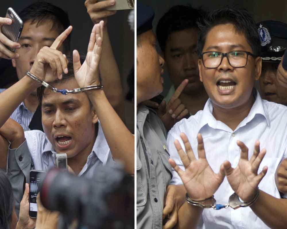 Myanmar Reuters journalists lose appeal against 7-year sentence