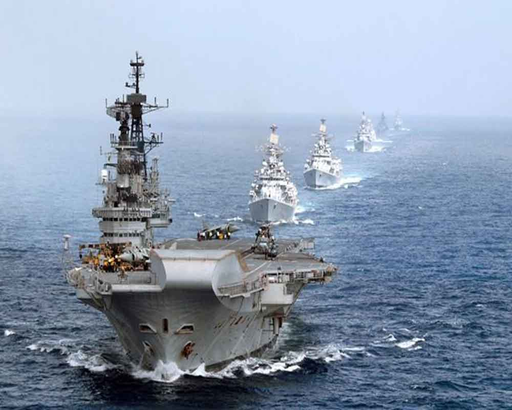 Navy put on high alert after revoking special status to Jammu and Kashmir
