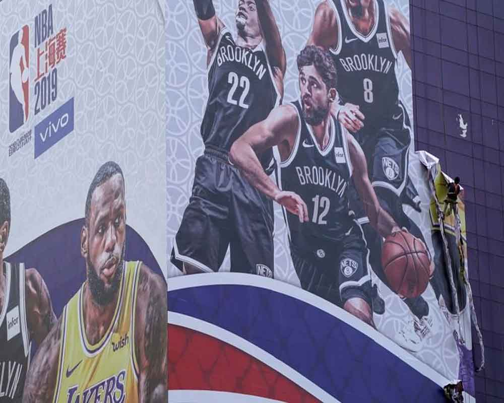 NBA game to go ahead in China despite free speech row