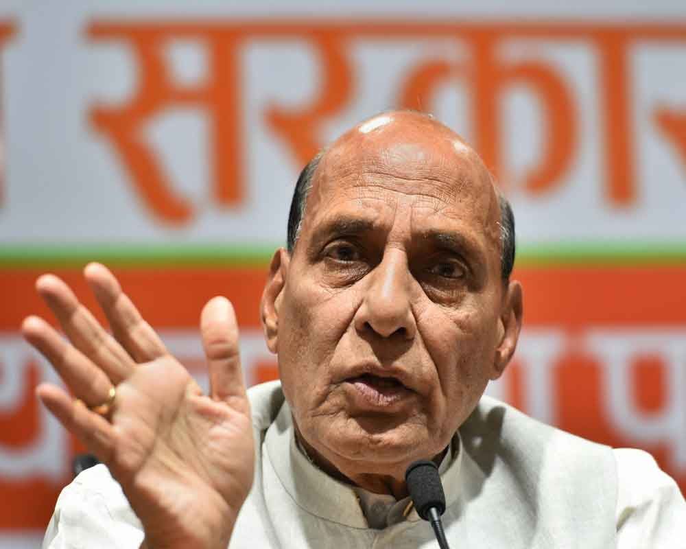 Need to review Art 370 in J&K: Rajnath
