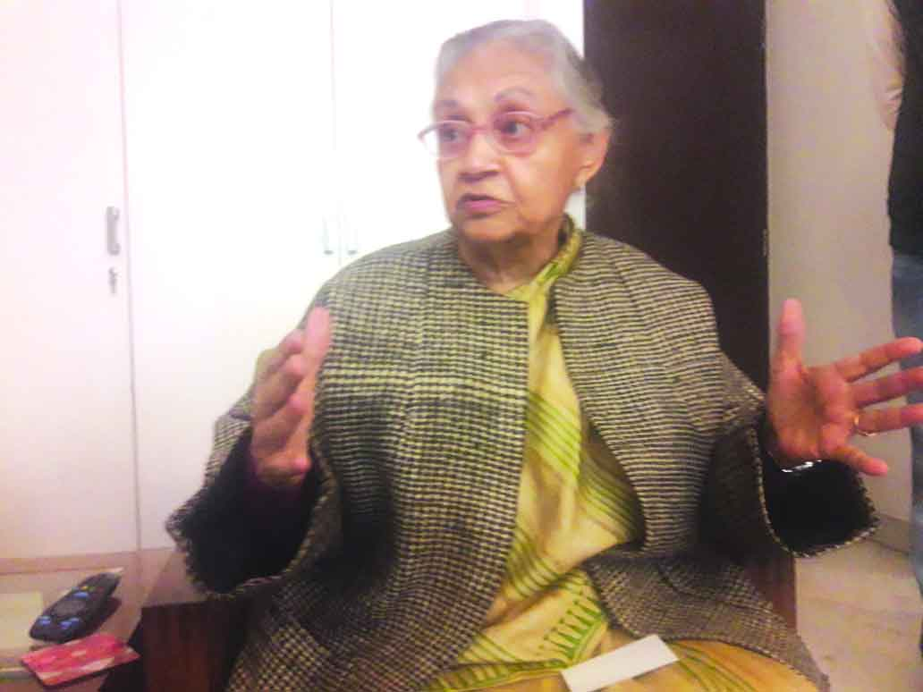 No alliance with AAP in LS polls: Sheila Dikshit