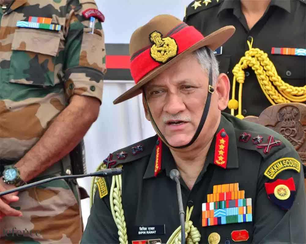No intrusion by Chinese soldiers in Ladakh's Demchok sector: Army chief Rawat