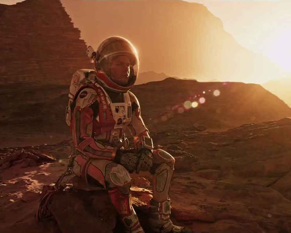 Novel 3D-printed tissue to keep astronauts healthy during Mars mission