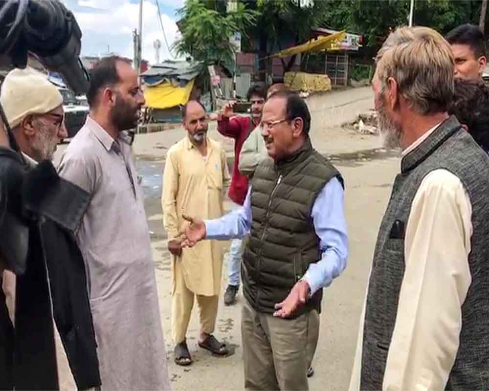 NSA reaches out to people in Anantnag, interacts with cattle traders