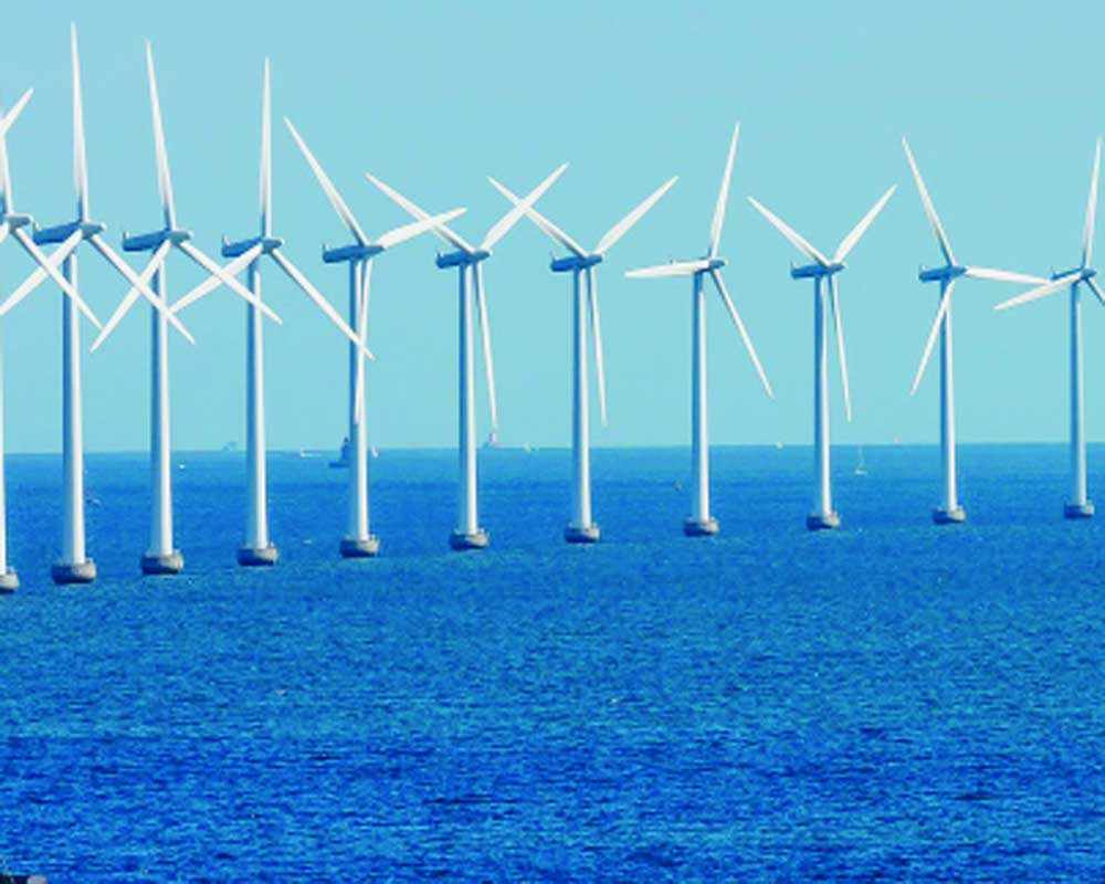 Offshore wind power generation not in full force