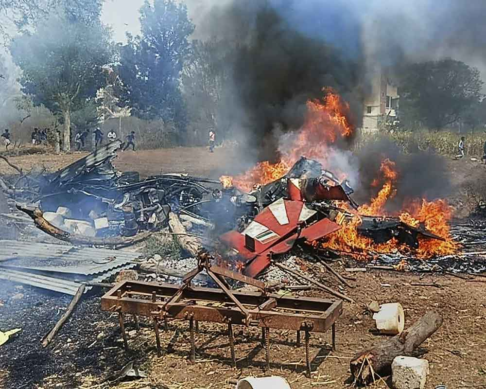 One pilot killed, 2 eject as two Suryakiran aircraft crash in