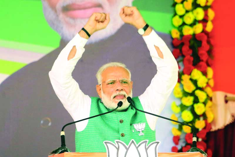 Opp parties behind unrest, raising storm over Act: PM