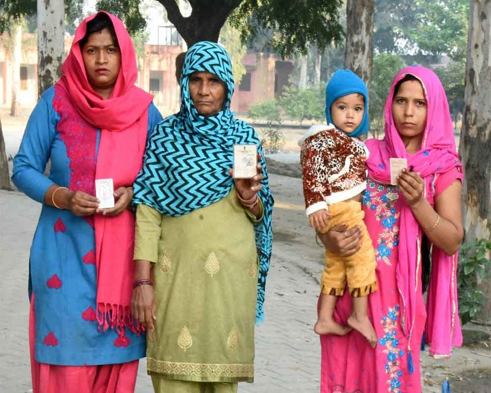 Haryana polling ends, turnout 62 per cent