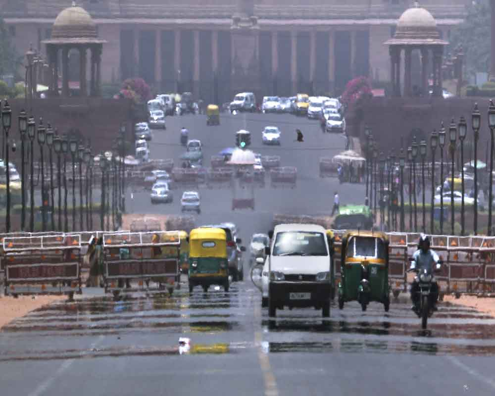 Partly cloudy morning in Delhi, respite from heat likely later in the day