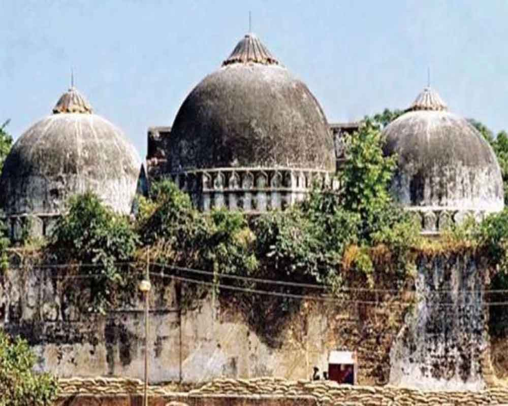 Plea seeking review of Ayodhya judgement filed in SC