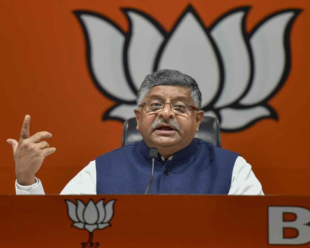 PM Modi has edge over rivals in digital outreach, struck a chord with all: Prasad