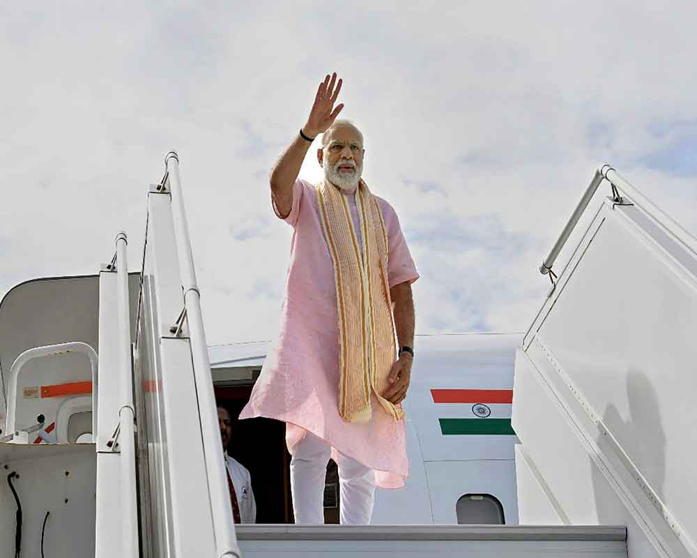 PM not to fly over Pakistan while travelling to Bishkek: MEA
