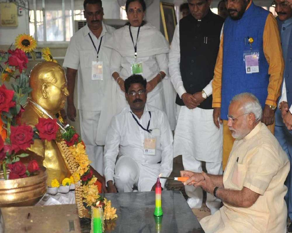 PM pays tributes to Ambedkar on his death anniversary