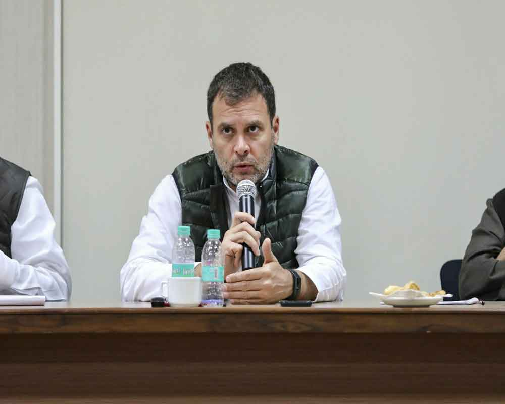 PM stole from Andhra Pradesh and gave it to Anil Ambani: Rahul Gandhi