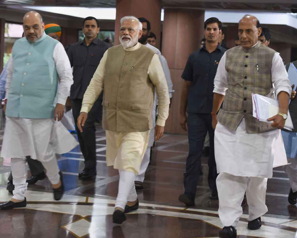 PM to set up panel to look into issue of simultaneous polls: Rajnath