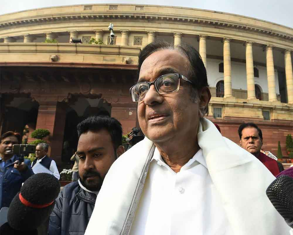 PM unusually silent, govt clueless on economy: Chidambaram