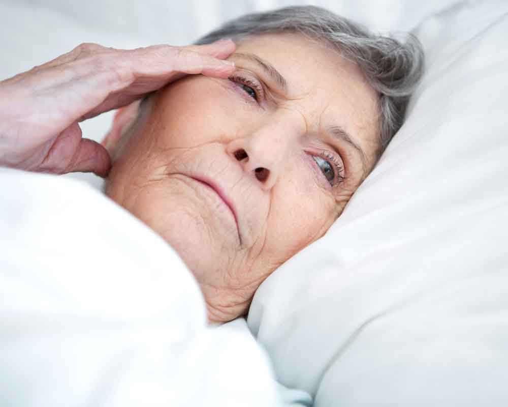 Poor sleep may predict Alzheimer's risk in elderly