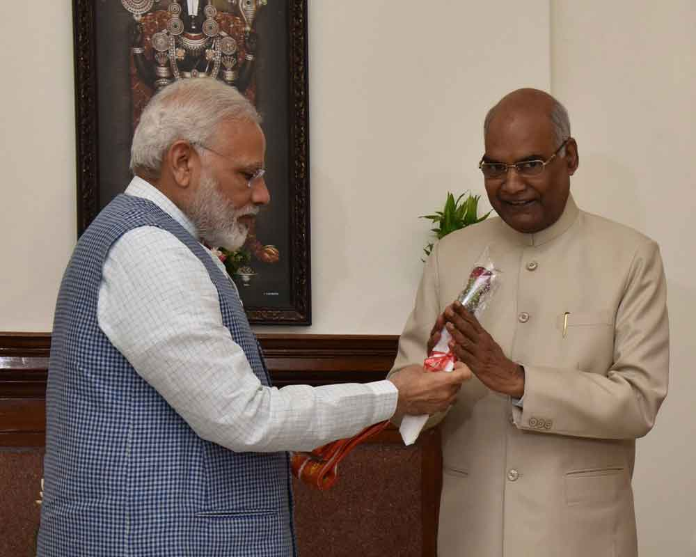 Prez accepts PM's resignation; asks him to continue till new government assumes office