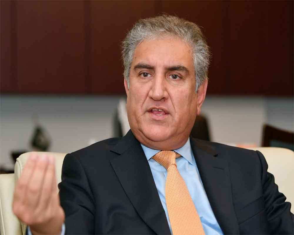 Qureshi writes letter to top UN officials to reject bifurcation of Kashmir