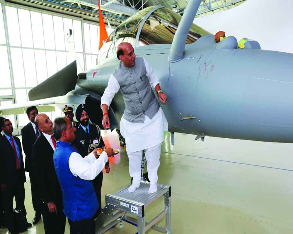 Rafale boost for Indian airspace