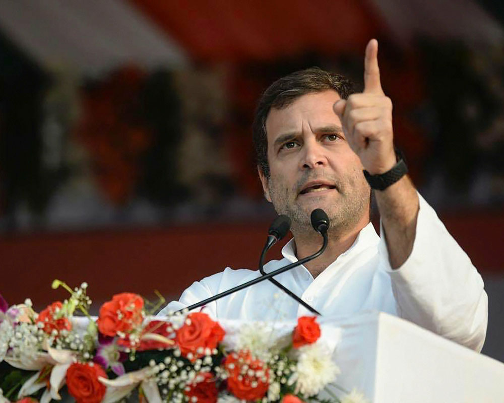 Rahul promises minimum income guarantee for poor if voted to power