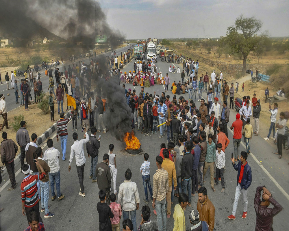 Rajasthan govt introduces 5 pc quota Bill for protesting Gujjars, 4 other castes