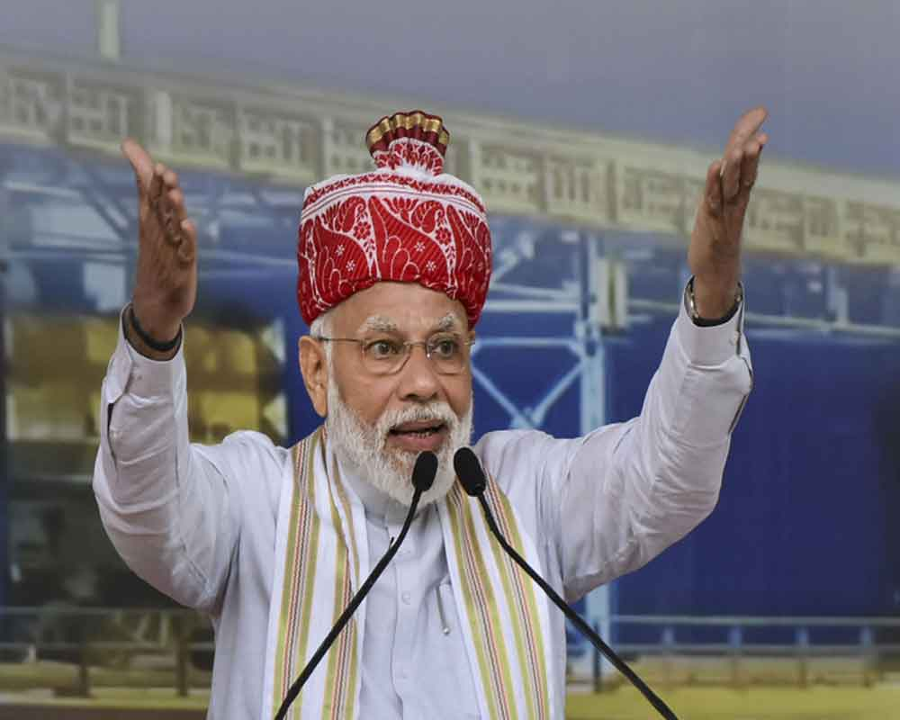 Rein in corruption, terrorism and taking J&K UTs to height of Development govt's pledge: PM