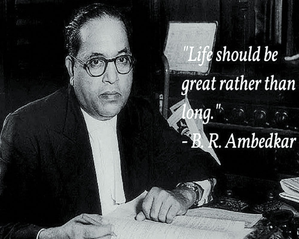 Relevance of Ambedkar today