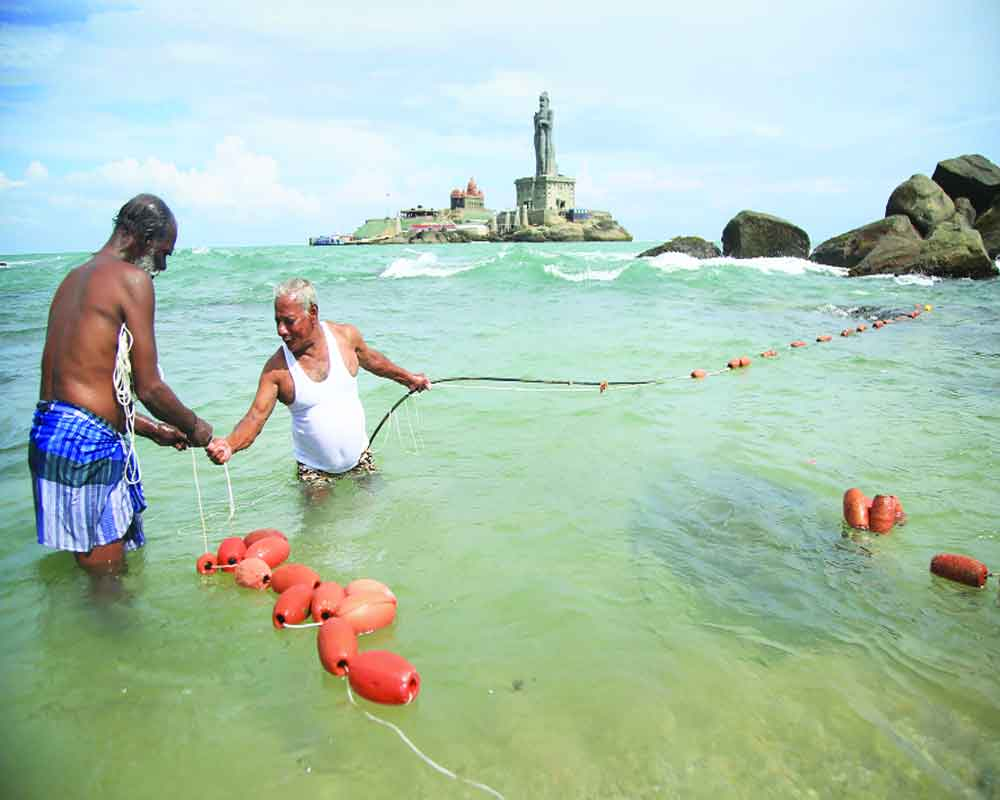 Rising sea threatens watery grave for Indian coastal cities