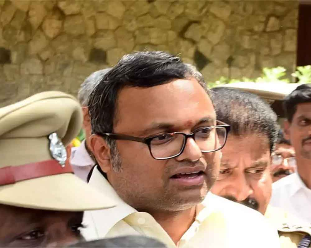 SC asks ED to provide date on which it wants to interrogate Karti Chidambaram