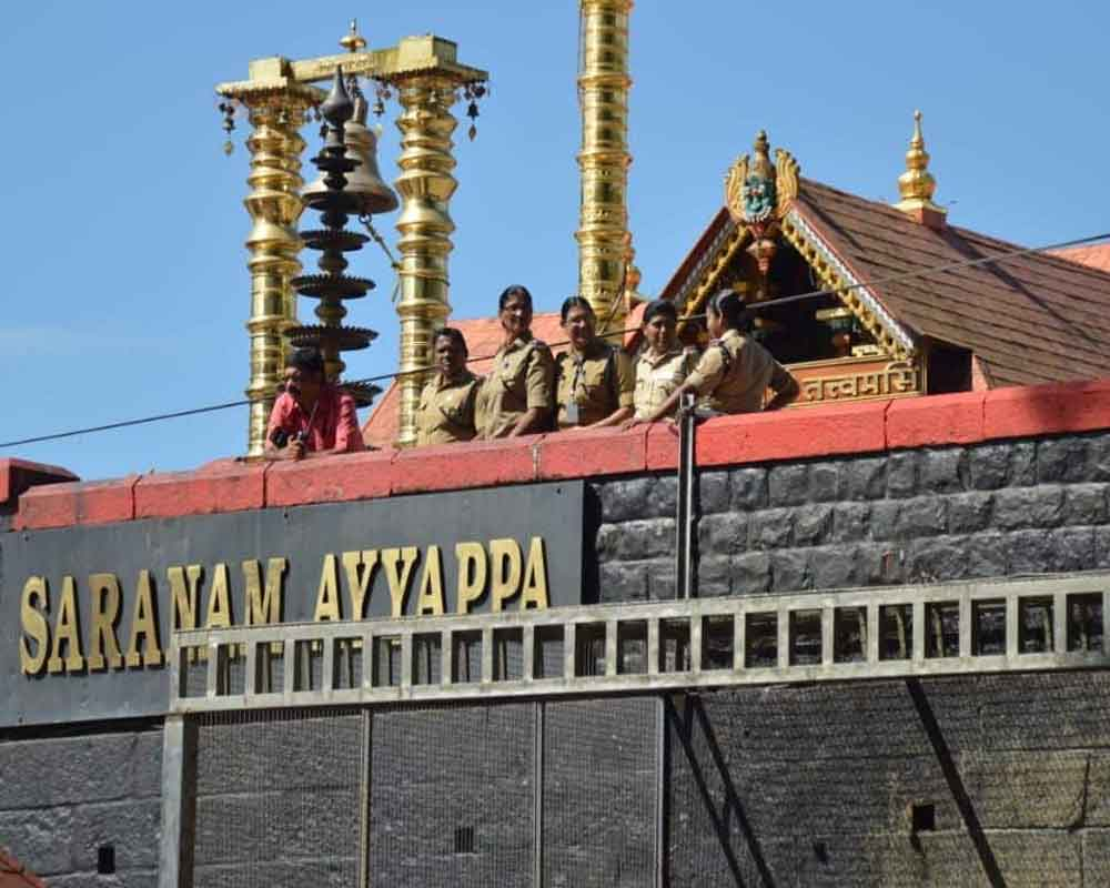 SC commences hearing on pleas seeking review of Sabarimala verdict