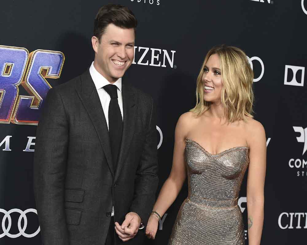 Scarlett Johansson and Colin Jost are engaged
