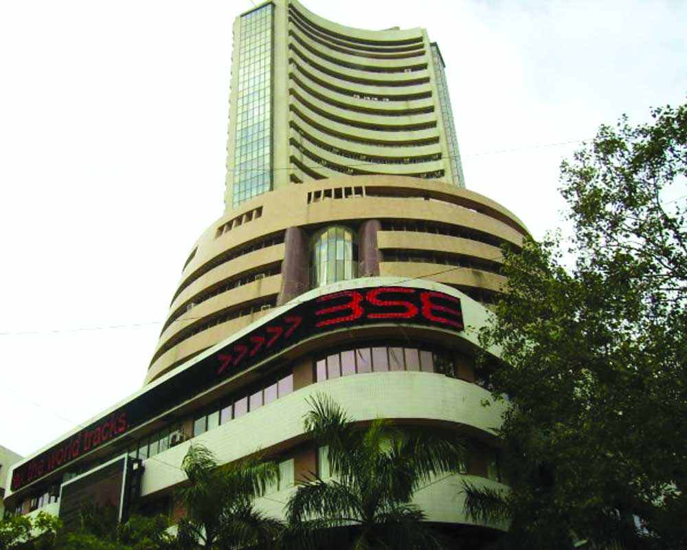 Sensex sinks 587 pts as stimulus hopes fade, ` crashes to 8-month low