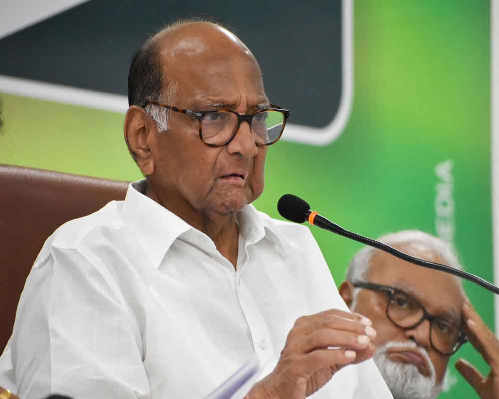Pawar meets Sonia Gandhi, says BJP has responsibility to form govt in Maha