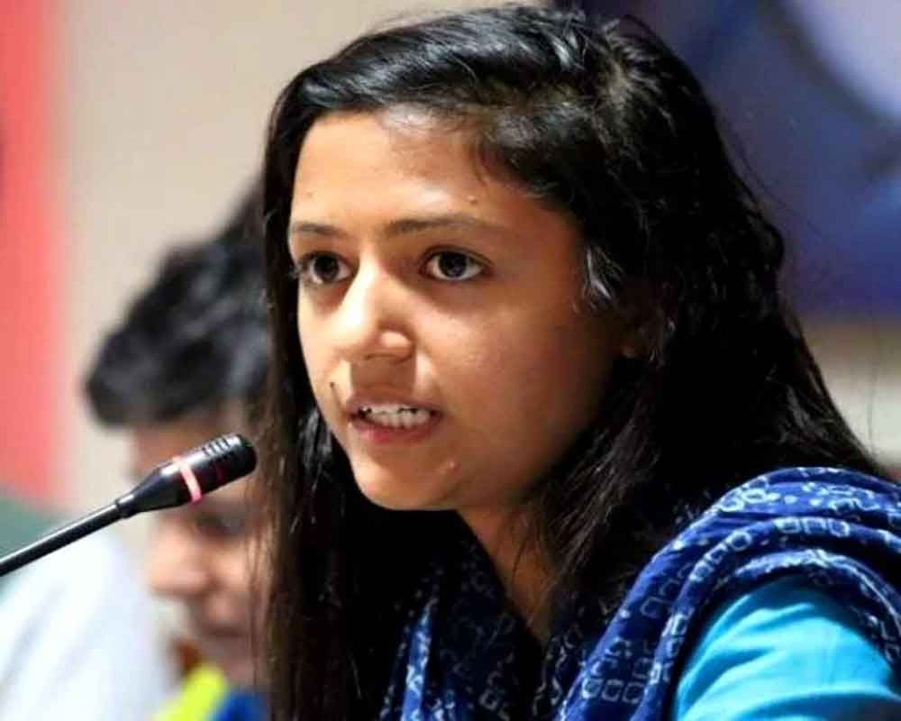 Shehla Rashid announces decision to quit electoral politics, opposes BDC polls in JK
