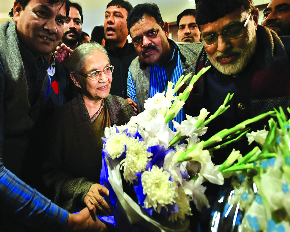 Sheila back to steer Delhi Cong in LS polls