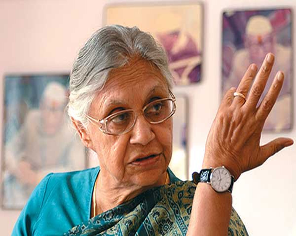 Sheila Dikshit meets working presidents; to take charge on Jan 16