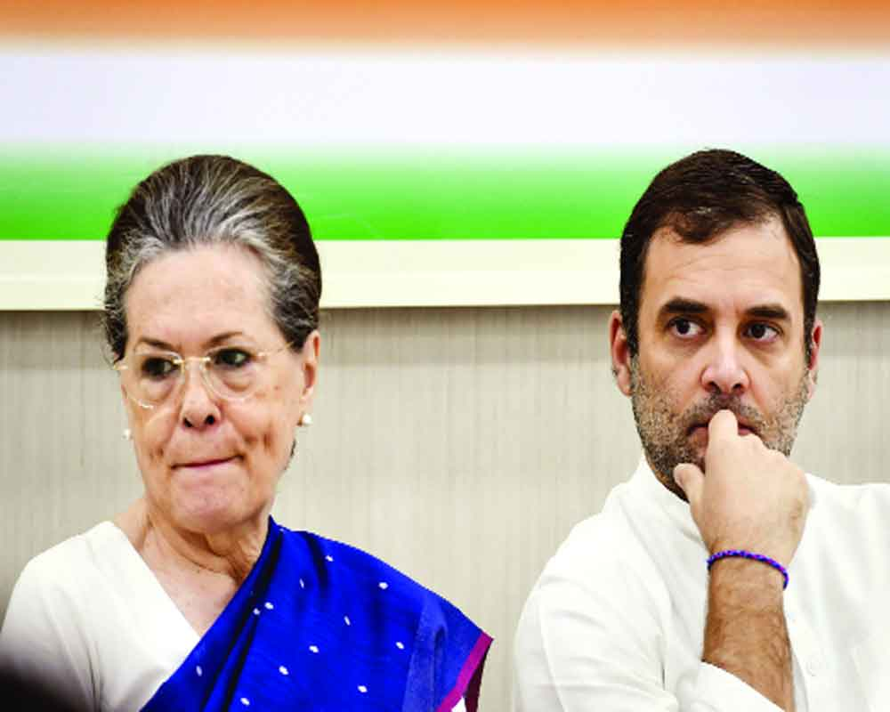 Sonia back at  helm of Cong