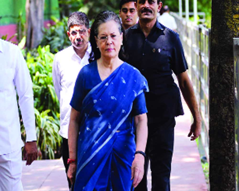 Sonia back in old role