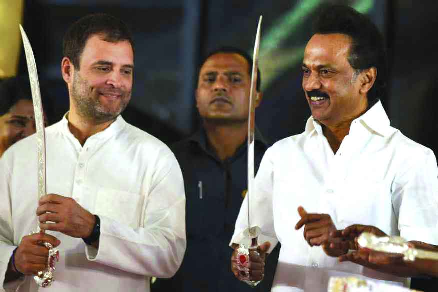 Stalin clears air on not echoing 'Rahul for PM' at TMC rally