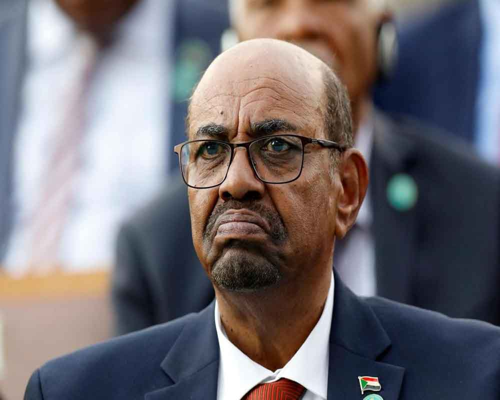 Sudan's Bashir in court for graft trial