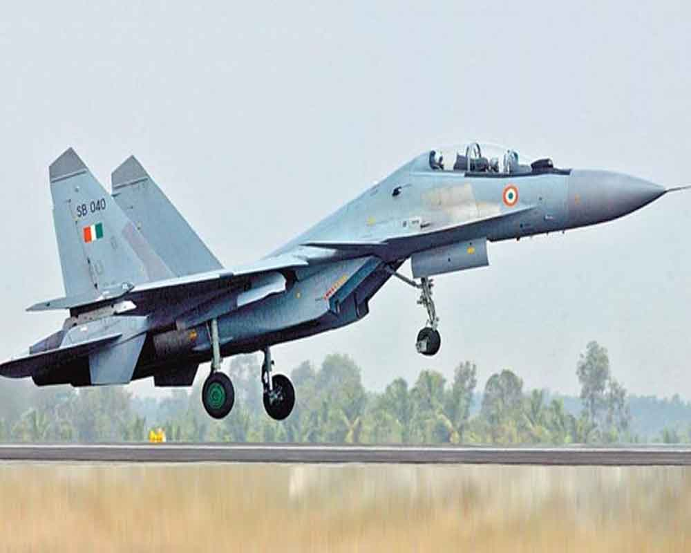 Sukhoi aircraft crashes near Tezpur, pilots eject safely