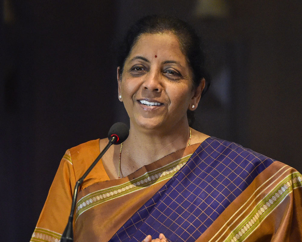 Talk about AgustaWestland before Rafale: Sitharaman to Congress