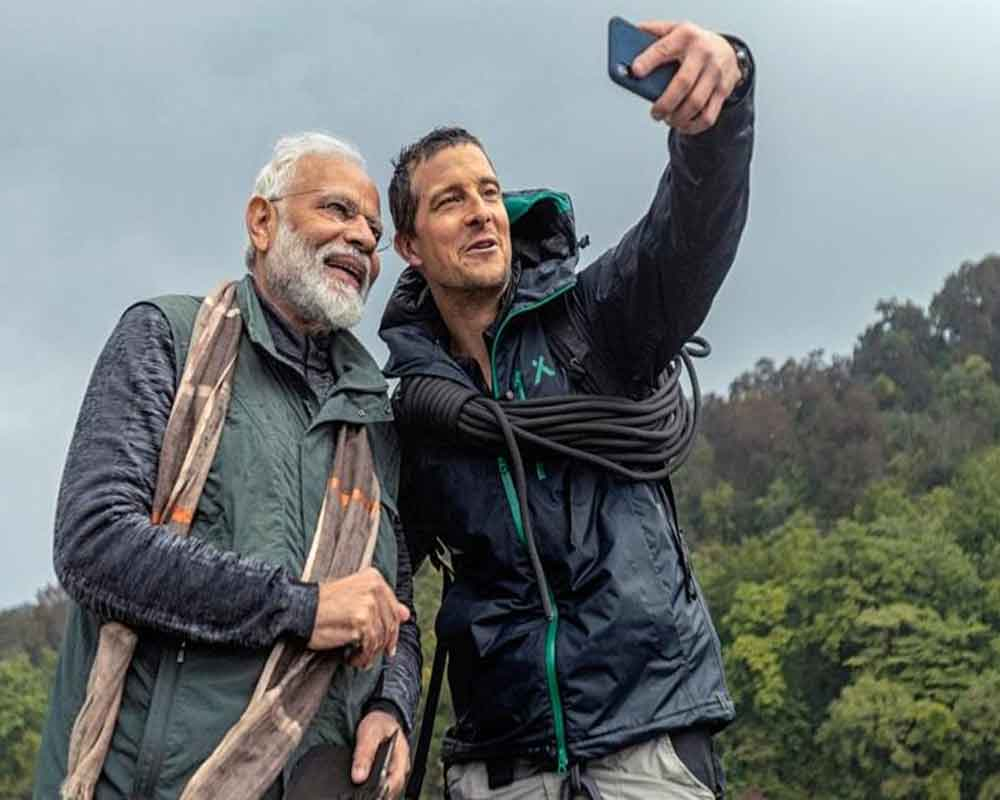 Technology helped Bear Grylls understand Hindi in 'Man Vs Wild', says PM