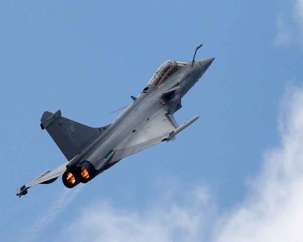 Three Rafale jets handed over to India: Govt