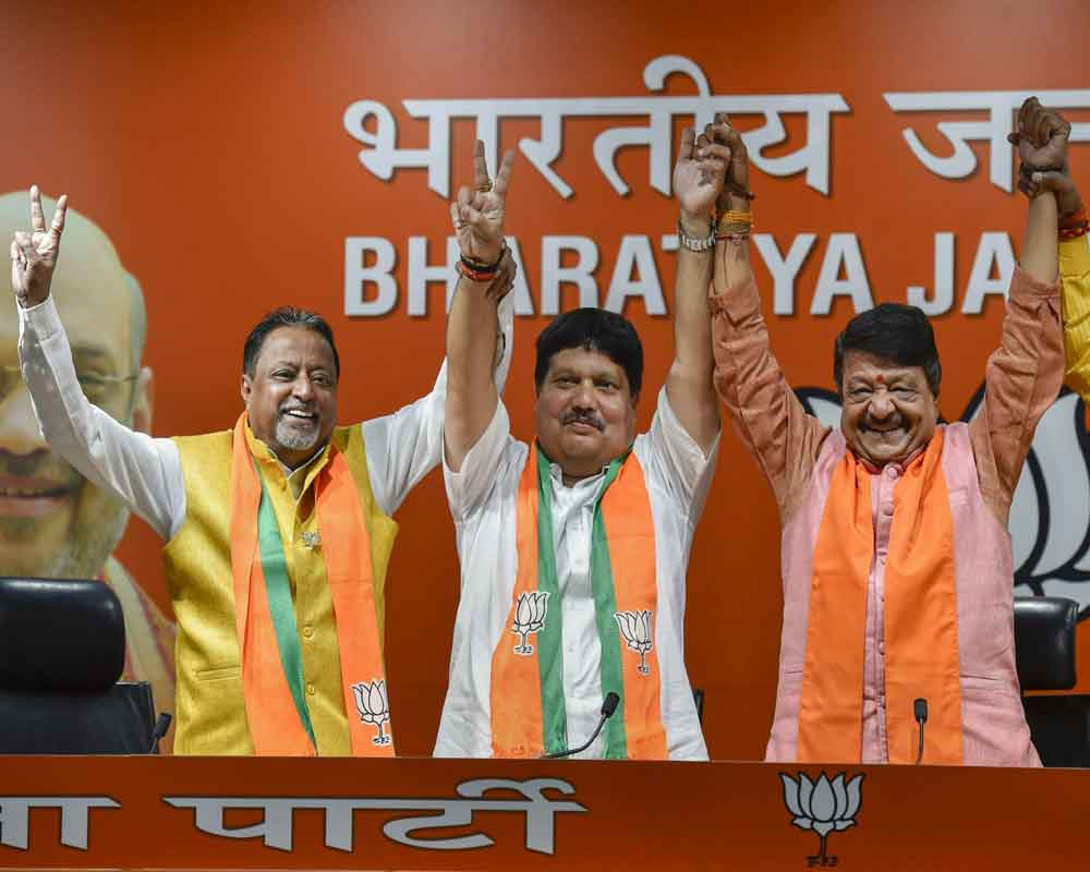 TMC leader and four-time MLA Arjun Singh joins BJP