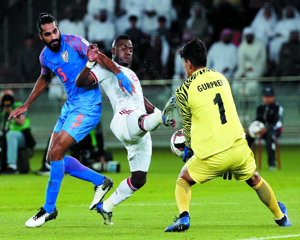 UAE Two Good for gutsy India